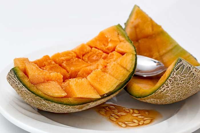 melon Les aliments à consommer pour avoir une belle peau