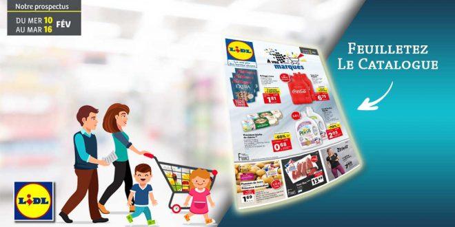 Catalogue Lidl Du 10 Au 16 Février 2021
